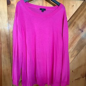 Hot Pink J.Crew Tippie Sweater